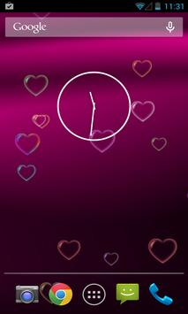 Pink Love Free Live Wallpaper poster