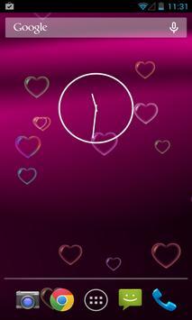 Pink Love Free Live Wallpaper apk screenshot