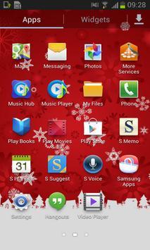 Red Snow Free Live Wallpaper screenshot 1