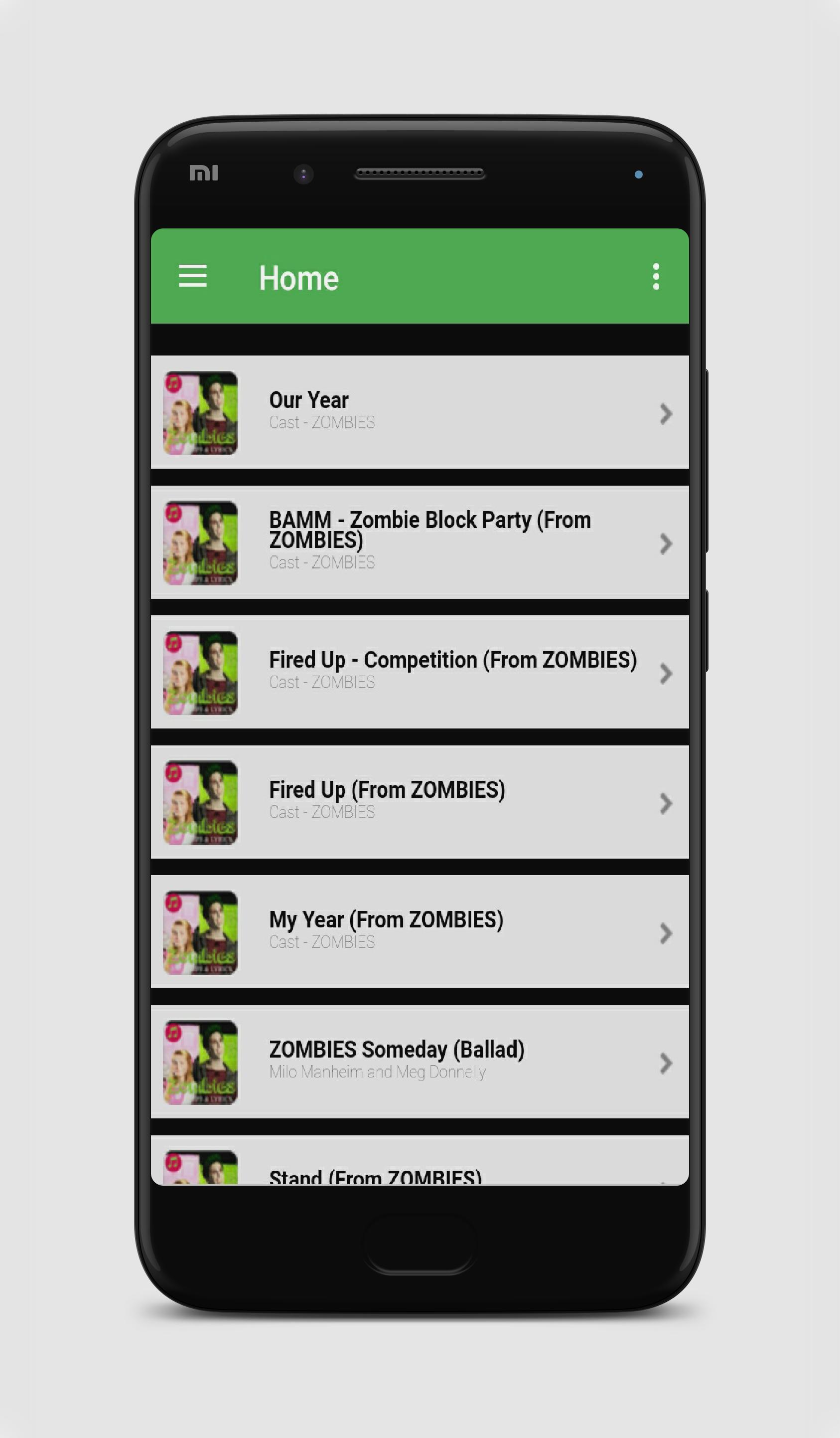 All Music for Zombies MP3 Song + Lyrics for Android - APK Download