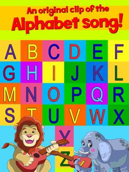 Learn ABC alphabet w animals screenshot 11
