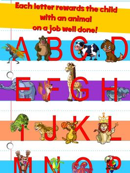 Learn ABC alphabet w animals screenshot 2
