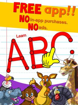 Learn ABC alphabet w animals screenshot 8