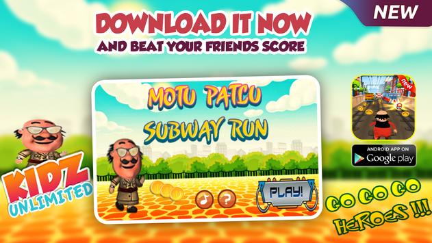 Motu Patl Subway Adventure Run screenshot 6
