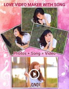Love Video Maker With Song poster