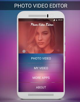 Photo Video Editor screenshot 1