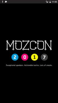 The Official MozCon 2017 App poster