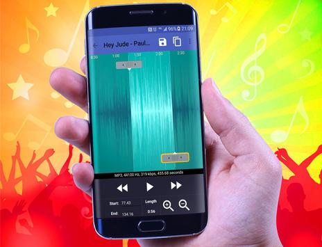 ringtone maker for mp3 cutter apk screenshot