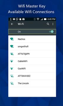 Wifi Master key View screenshot 1