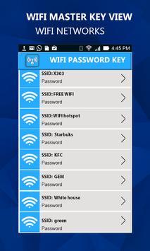 Wifi Master key View screenshot 3