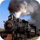 Vintage trains. LiveWallpapers icon