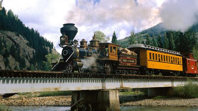 Vintage trains. LiveWallpapers screenshot 1