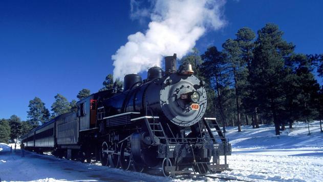 Vintage trains. LiveWallpapers screenshot 2