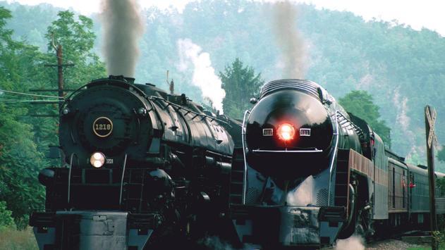 Vintage trains. LiveWallpapers screenshot 4