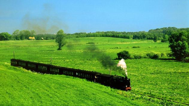 Old trains. Live wallpapers apk screenshot