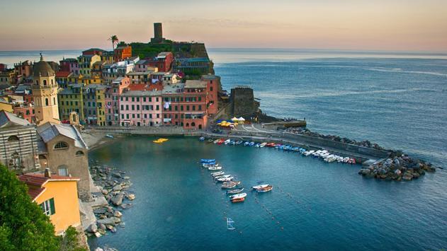 Italy coast. Live wallpapers apk screenshot