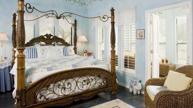 Romantic bedroom. Wallpapers apk screenshot