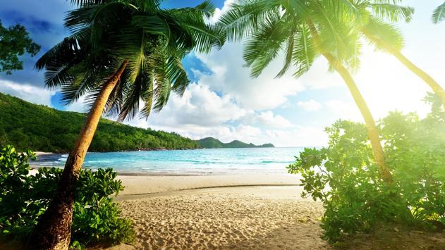 Paradise beach Live wallpapers apk screenshot