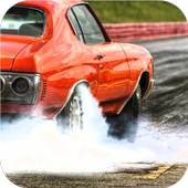 Burnout wheels Live wallpapers icon