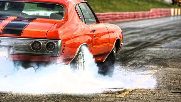 Burnout wheels Live wallpapers poster