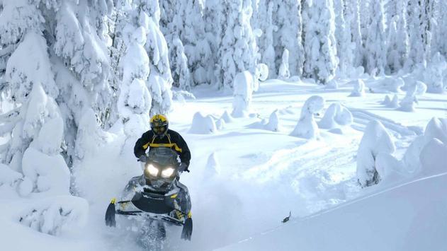 Extreme snowmobile. Wallpapers apk screenshot