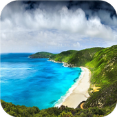 Beautiful beach LiveWallpapers icon