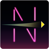 Neon Spaceship icon