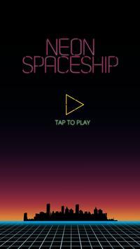 Neon Spaceship poster