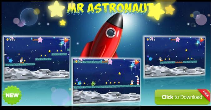 Mr astronaut bean adventure poster