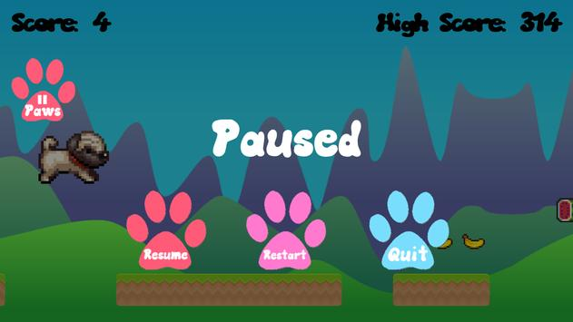 Pug Run apk screenshot