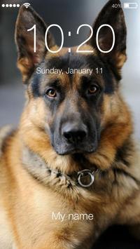 German Shepherd Dog AppLock Security poster