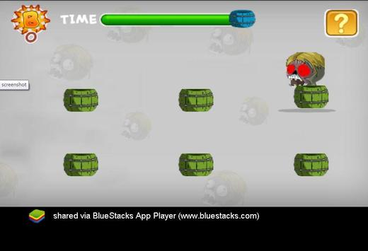 Mr bin adventure zombie glider screenshot 1