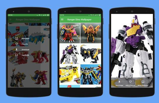 Wallpaper Ranger Dino Charge screenshot 3