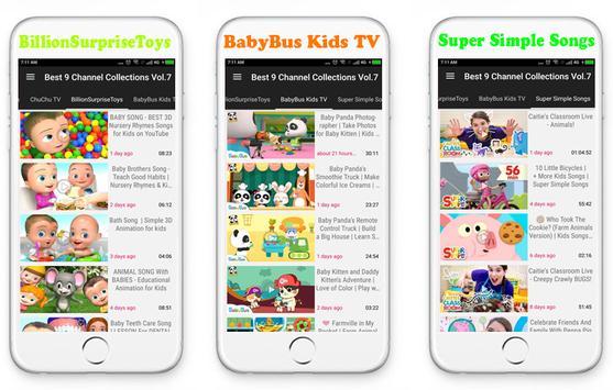 Top 9 Channels Nursery Rhymes screenshot 2