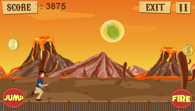 Amazing Cowboy Run apk screenshot