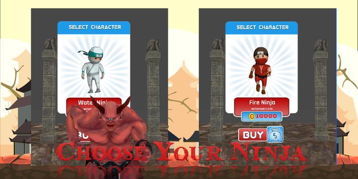 Temple Ninja Run poster