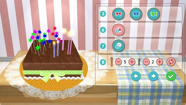 CakeLetter3D apk screenshot