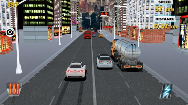 Drag Drive : Traffic Zone poster