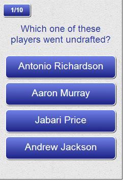 2014 NFL Draft Trivia apk screenshot