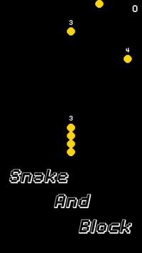 SnakeAndBlock screenshot 1