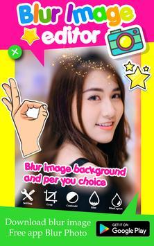 Blur Image Editor poster