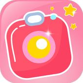 Lovely Pink Camera Filters icon