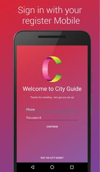 City Guide poster