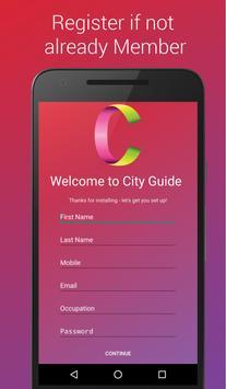 City Guide screenshot 1