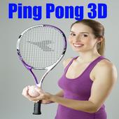 كورة  Ping Pong 3D icon
