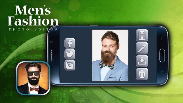 Men's Fashion Photo Editor screenshot 1