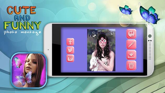 Cute and Funny Photo Montage screenshot 1