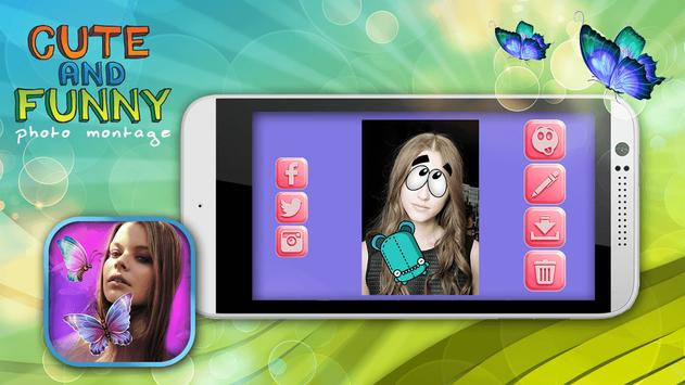 Cute and Funny Photo Montage screenshot 2