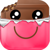 Candy Cute Photo Stickers icon