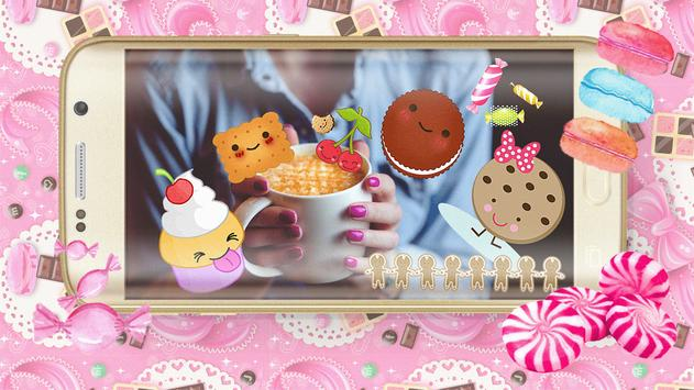 Candy Cute Photo Stickers poster